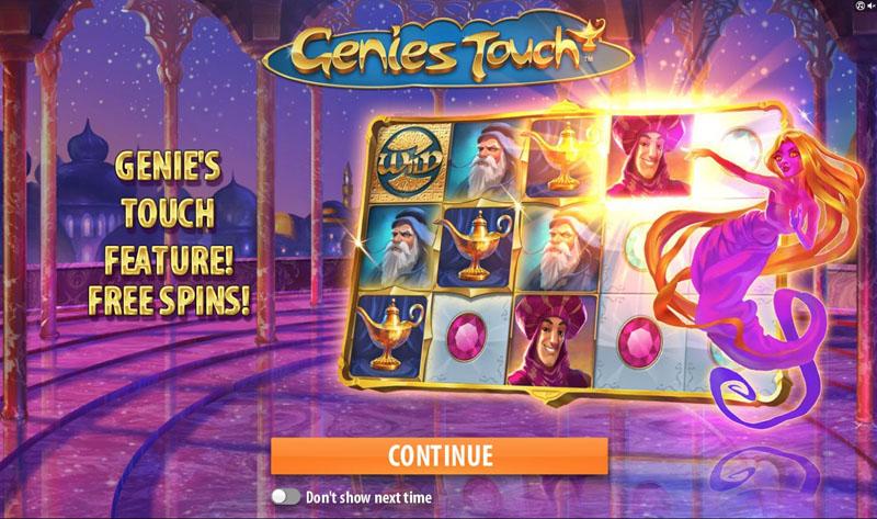 Genie's Touch Slot