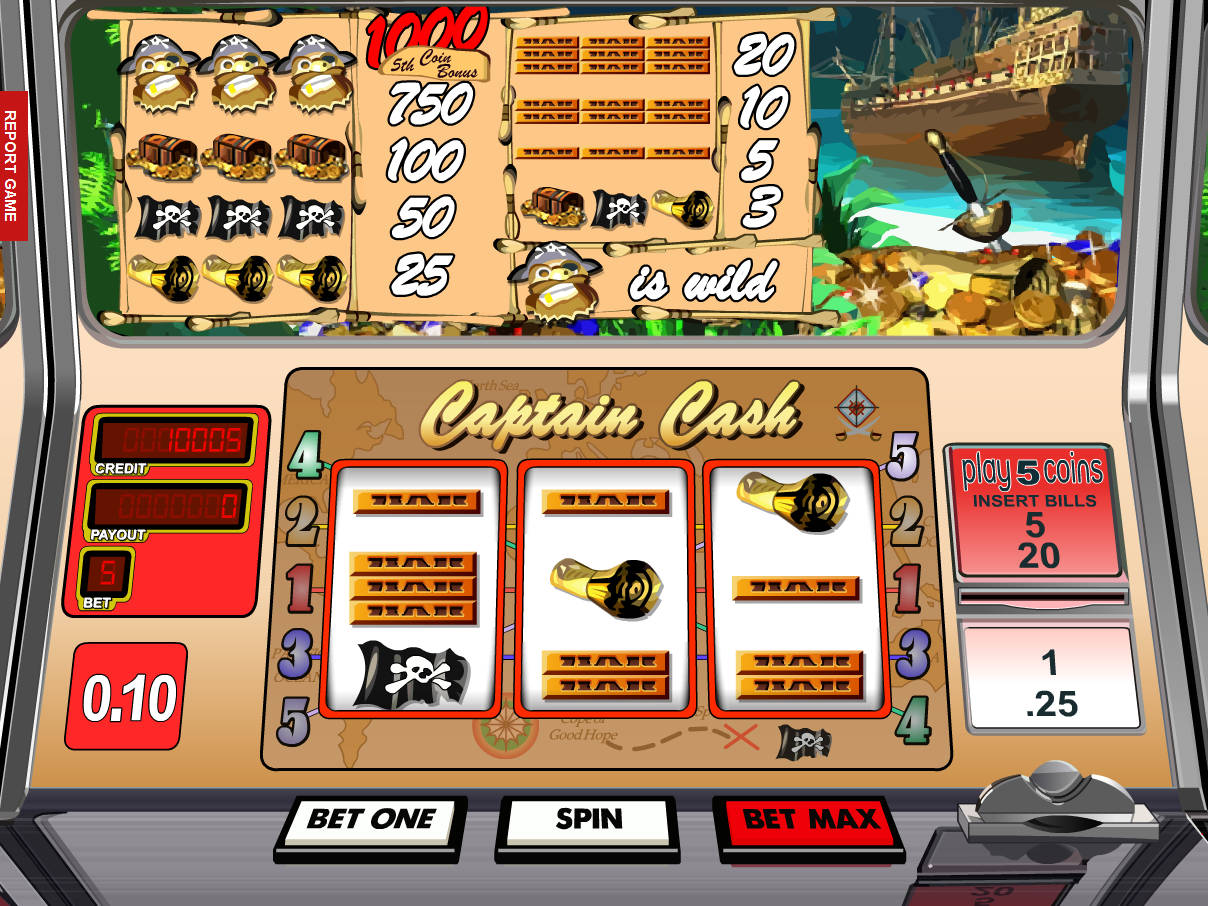 Captain Cash Slot