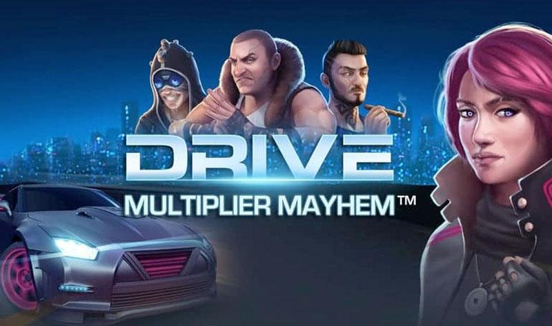 Drive Multiplier Mayhem NetEnt