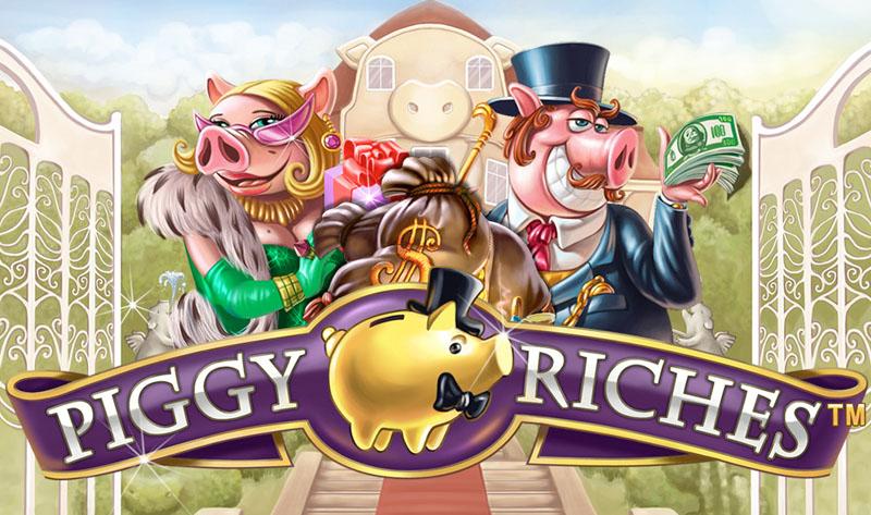 Piggy Riches NetEnt