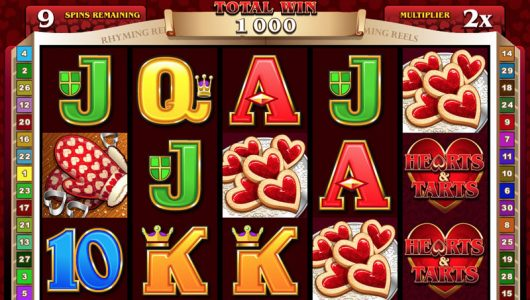Rhyming Reels Hearts & Tarts Slot