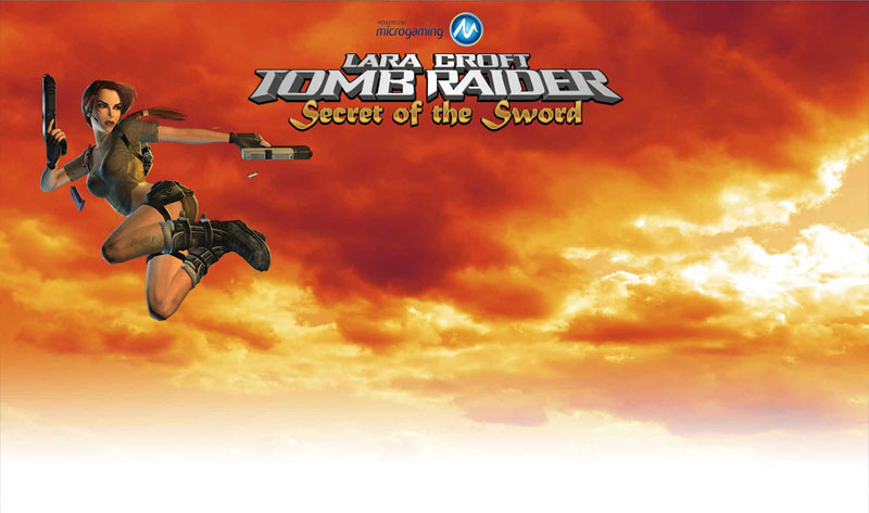 Tomb Raider Secret of the Sword Slot