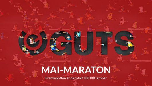 Bli med på mai-maraton hos Guts