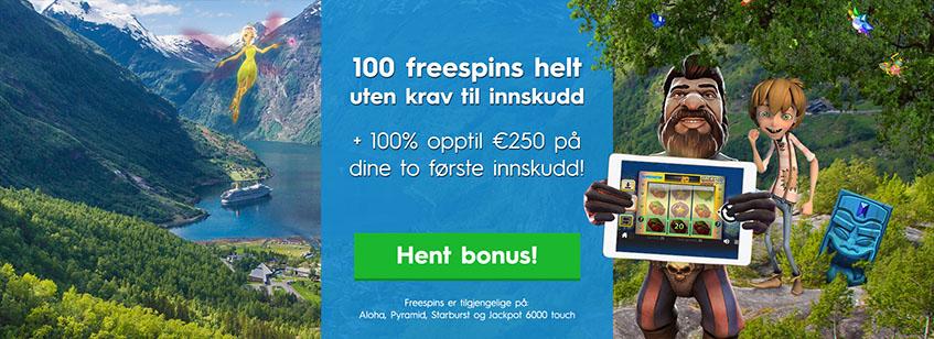 Norgescasino Kampanjer 1