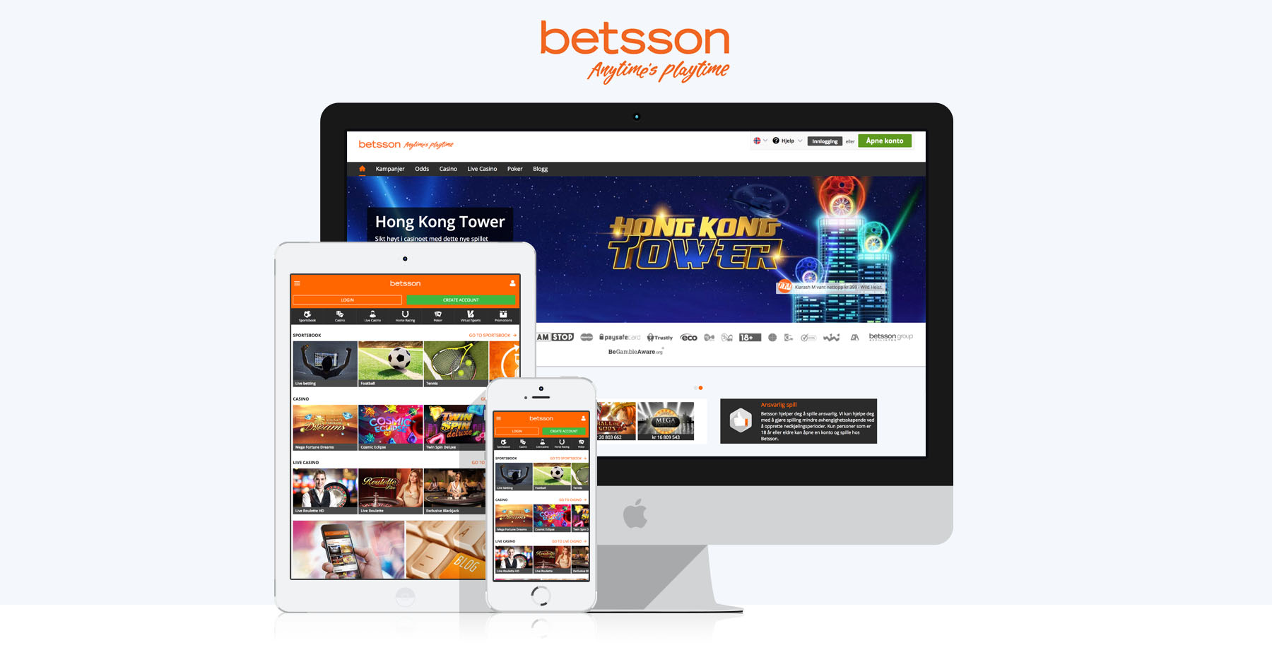 Betsson | Casinorge