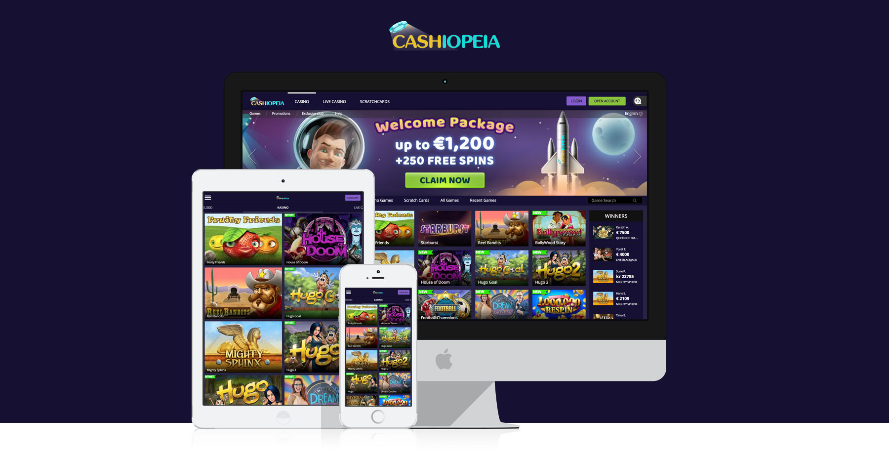 Cashiopeia | Casinorge